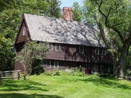 The Parson Capen House in Topsfield was built around 1683 as the parsonage for the Congregational Church in town.