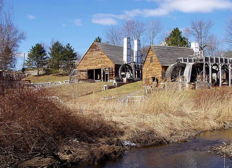 The Saugus Iron Works National Historic Site traces its roots to 1646.