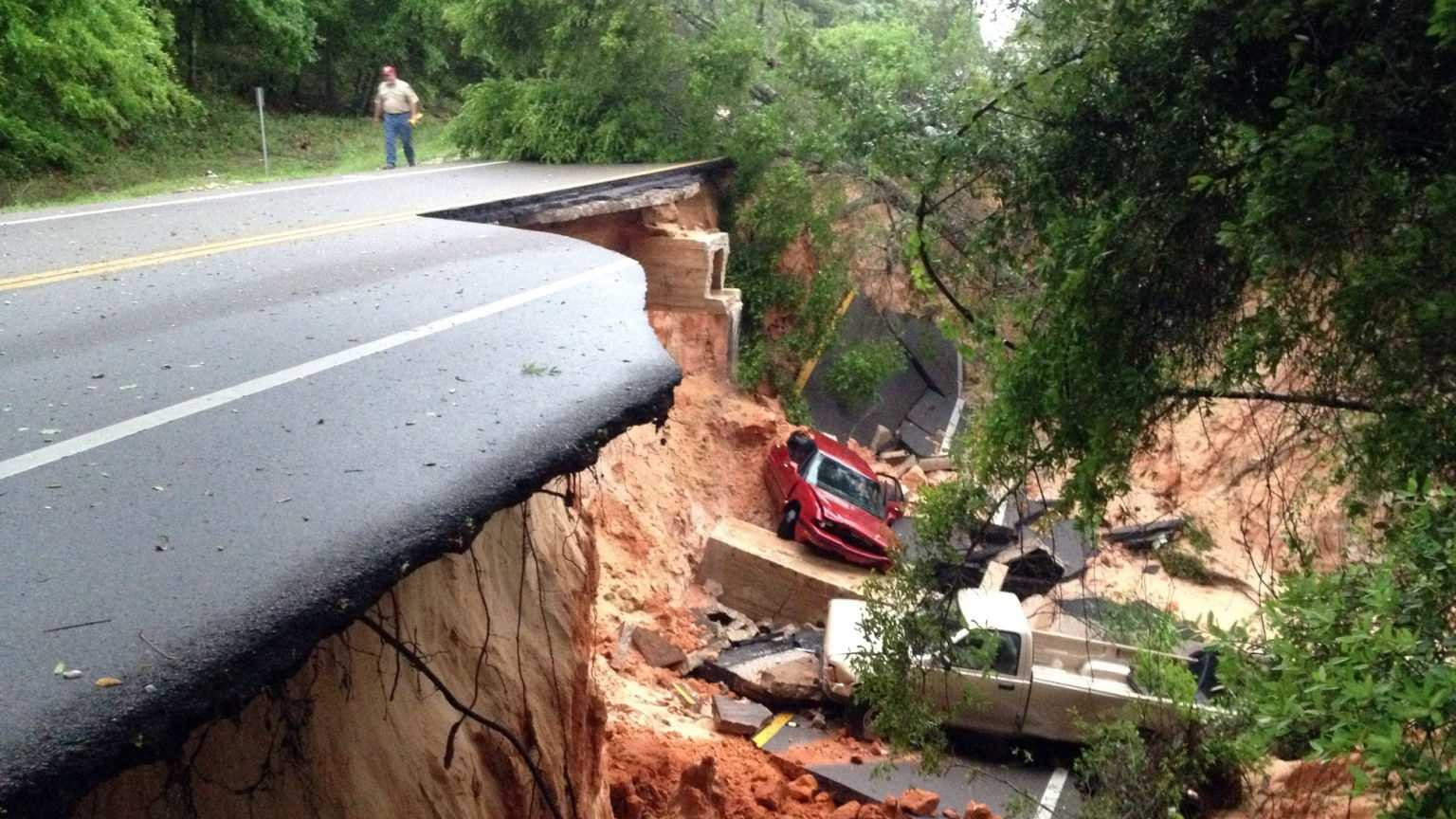 Pensacola Florida Flash Flooding