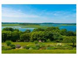 Expansive water views from southern facing Custom Cape.