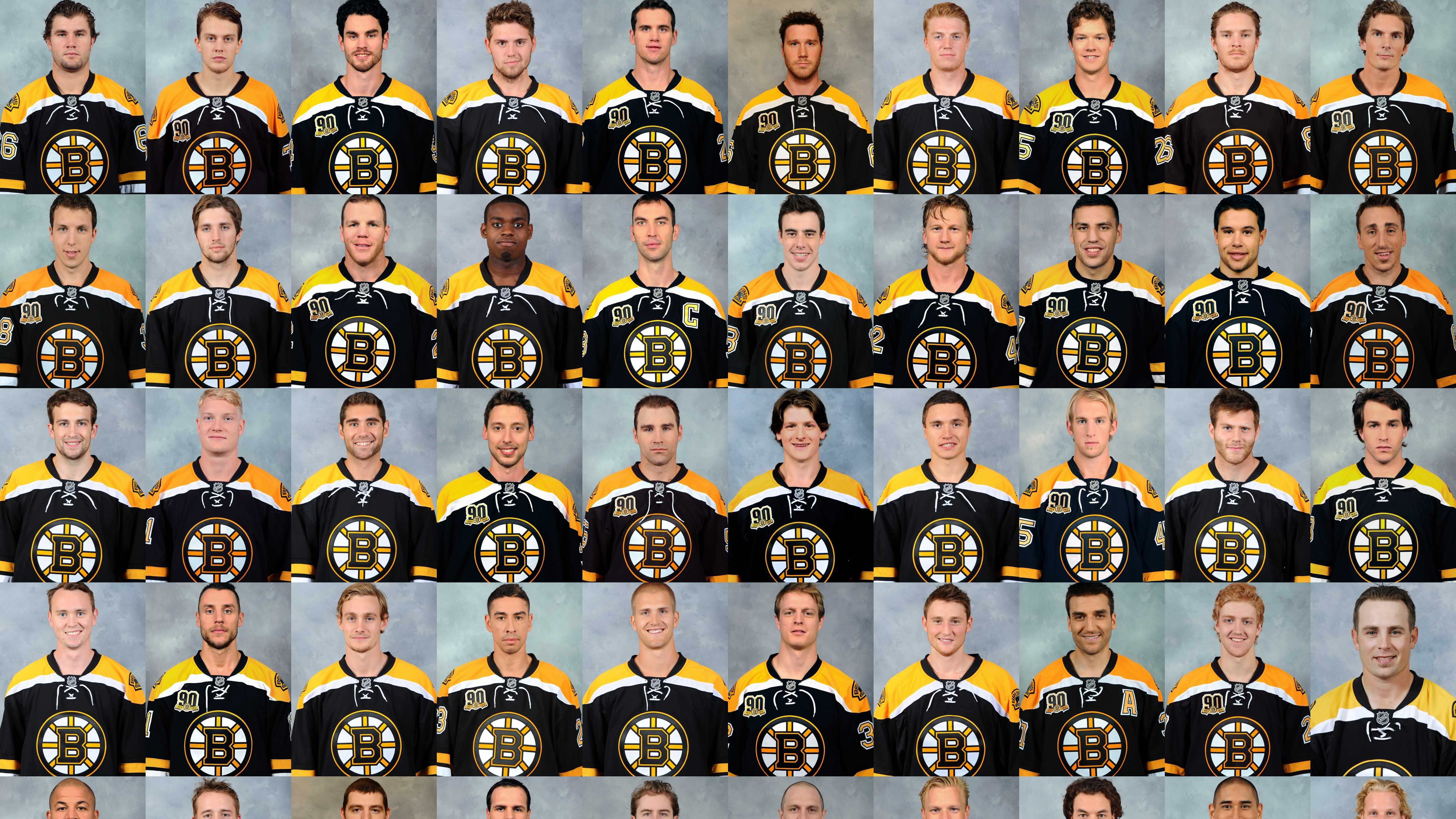 Here's a look at the team roster, and how much each Bruins player makes.