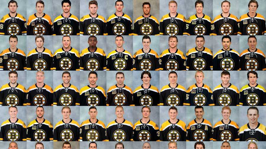 Heres A Look At The Team Roster And How Much Each Bruins Player Makes