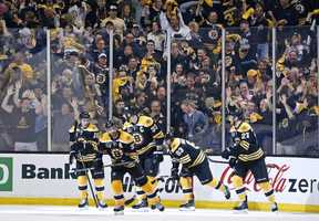 Bruins fans are hoping the team will make it to the Stanley Cup finals for the second year in a row.