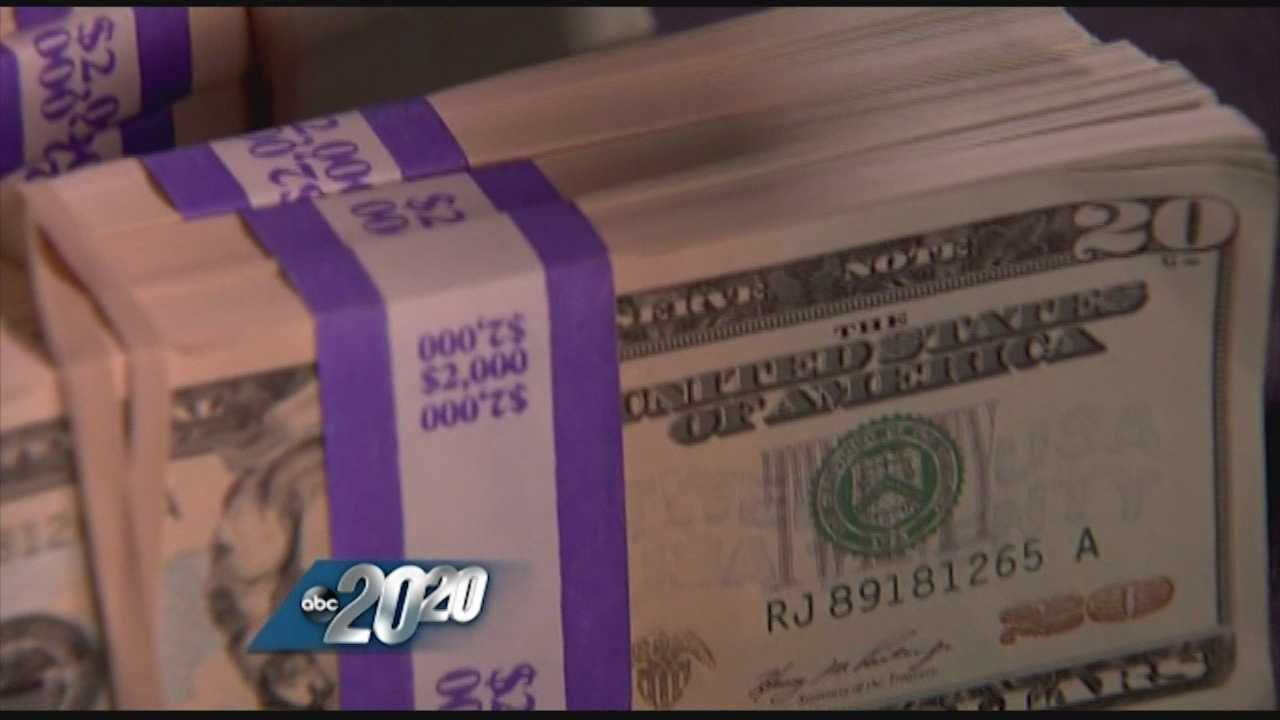 Counterfeit $20's making the rounds in the region