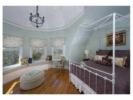 The home has six bedrooms.