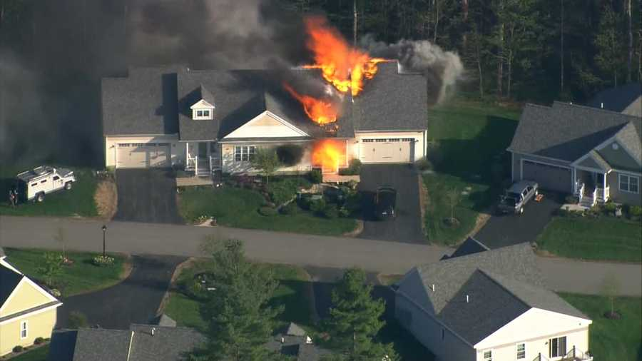 5:49 p.m. - Report of explosion inside the home&#x3B; law-enforcement and first responders ordered to move away from home.
