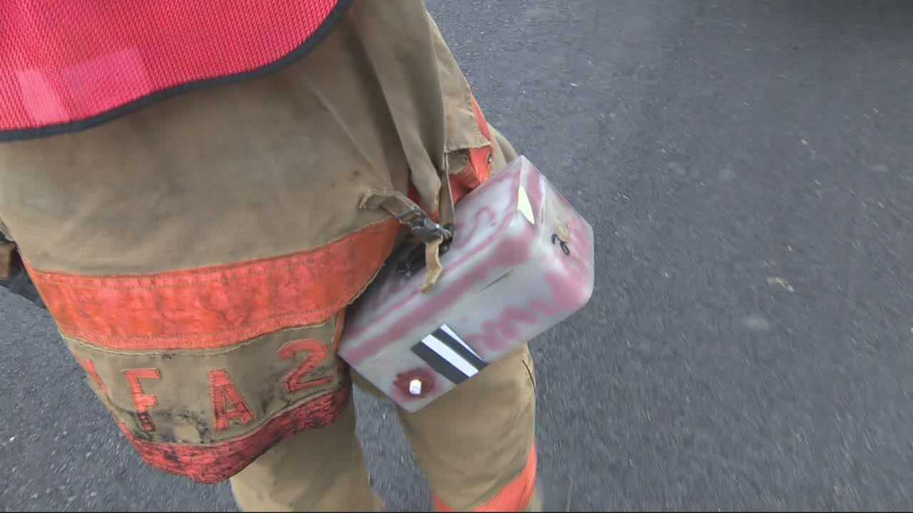 Local minds behind new device to save firefighters from one of their biggest threats