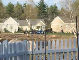 4:02 p.m. - Brentwood Police were sent to a verbal/domestic dispute at 46 Mill Pond Road, the home of86-year-old Walter Nolan and his son Michael Nolan.
