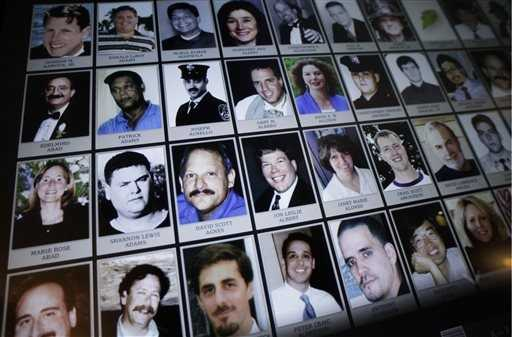 Electronic images of victims of the attacks are part of the museum.