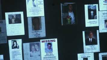 Missing posters from the days following the attacks.