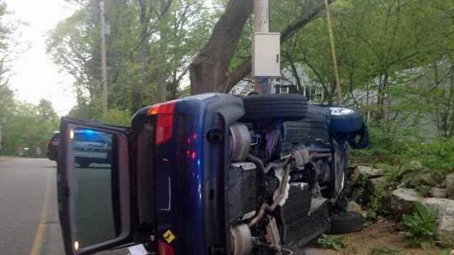 Ashland BMW Bee crash 5.16.14
