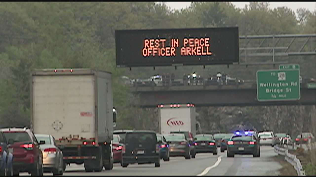Officer Arkell Procession
