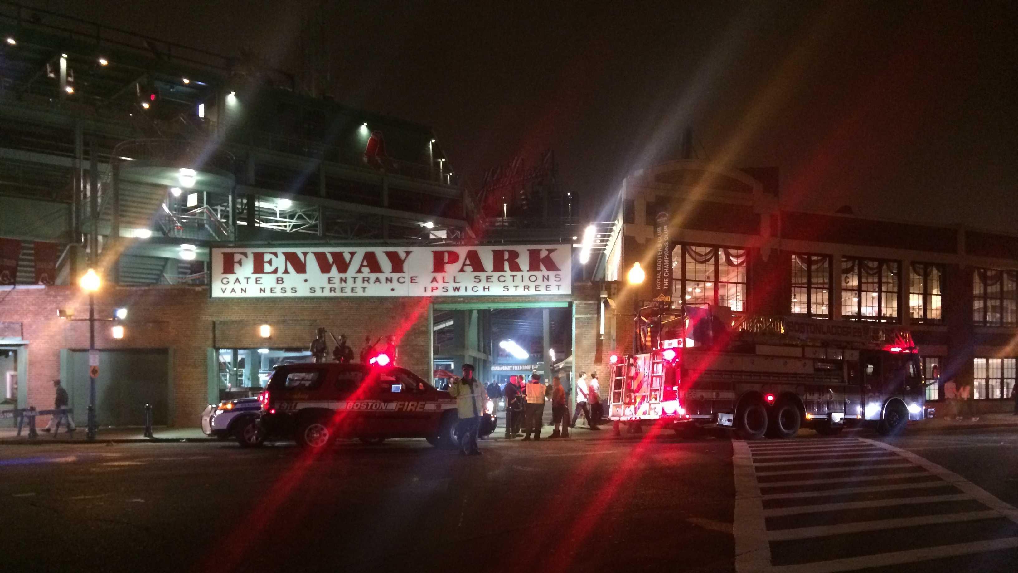 Fenway Park Elevator Accident