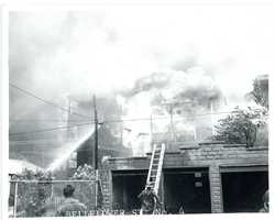 """""""We had to stop it. Thank God we did,"""" a fire official told The Boston Globe 50 years ago. """"If we didn't cut off the radiated heat, we'd have lost all of South Boston."""""""