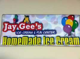Jay Gee's Ice Cream & Fun Center - Methuen