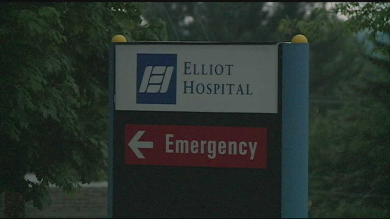 Elliot Hospital and Manchester police are investigating the theft of four computers containing limited personal information about patients.