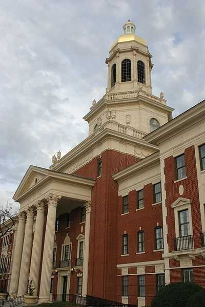 Baylor University (Waco, Texas) Rank: 75Acceptance rate: 60.7%
