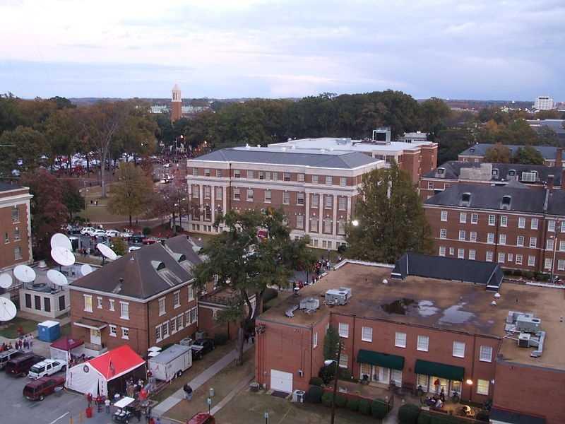 University of Alabama (Tuscaloosa, Ala.) Rank: 86Acceptance rate: 53.1%