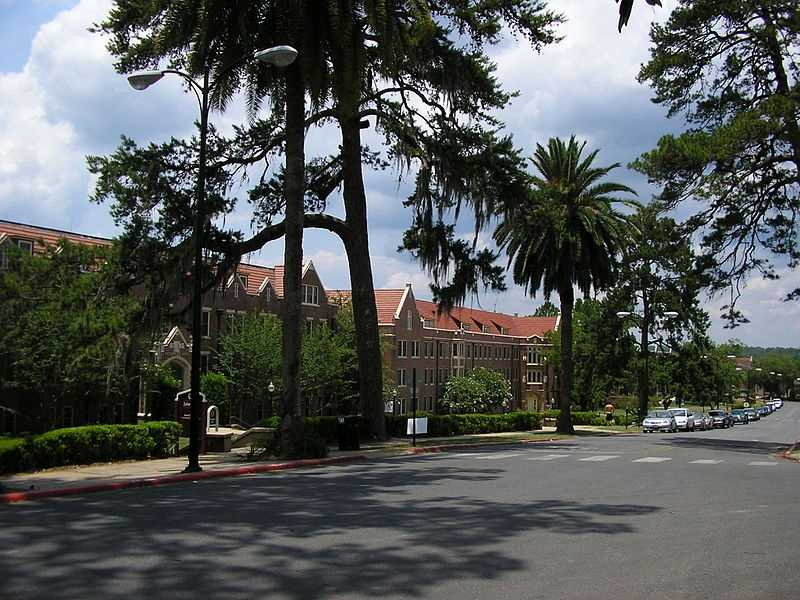 Florida State University (Tallahassee, Fla.)Rank: 91Acceptance rate: 53.7%