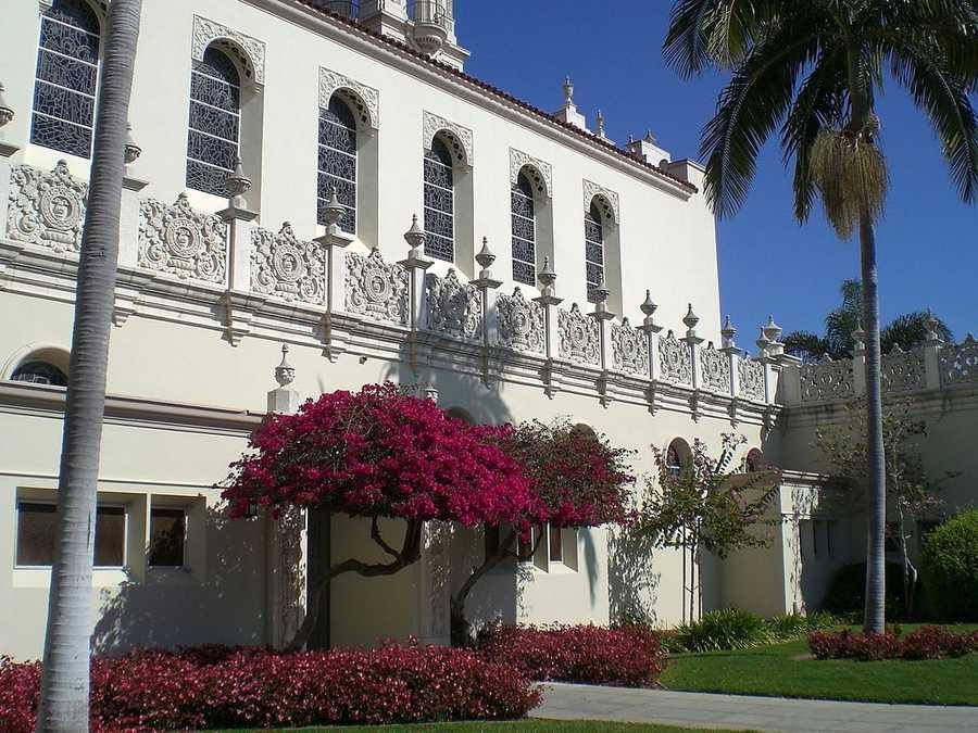 University of San Diego (San Deigo, Calif.)Rank: 91Acceptance rate: 42.6%