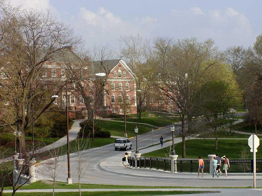 Iowa State University (Ames, Iowa)Rank: 101Acceptance rate: 82.5%