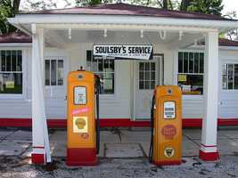 The average person uses 558 gallons of gasoline every year.