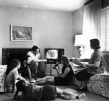 The average person watches 5 hours of TV per day.