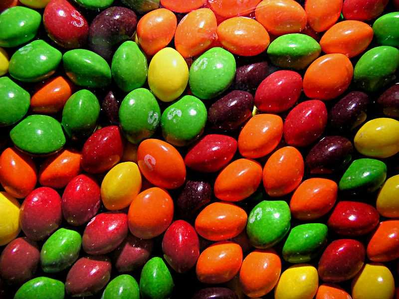 That's about 1,767,900 skittles in a lifetime -- according to Business Insider.