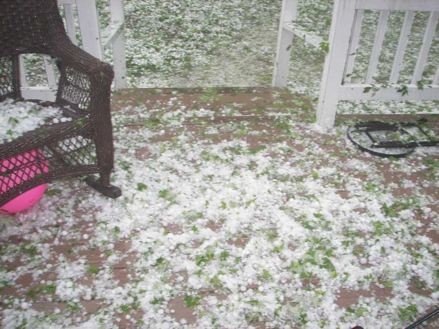 Storm images from Rutland, VT