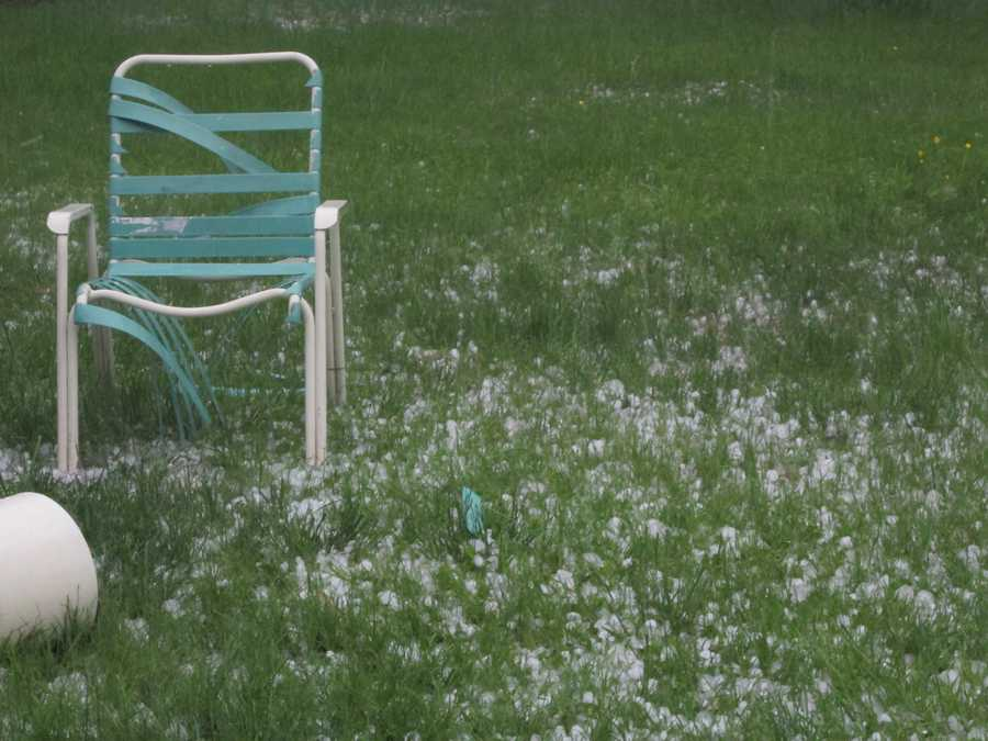My poor lawn chair!