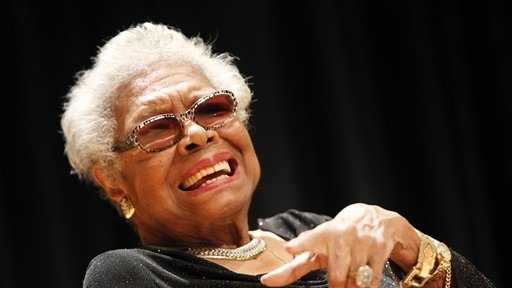 "Author and poet Maya Angelou rose from poverty, segregation and violence to become a force on stage, screen and the printed page.  She gained acclaim for her first book, her autobiography ""I Know Why the Caged Bird Sings,"" making her one of the first African-American women to write a best-seller.  (April 4, 1928 – May 28, 2014)"