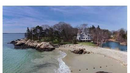 8 Curtis Point is on the market in Beverly for $4.8 million.
