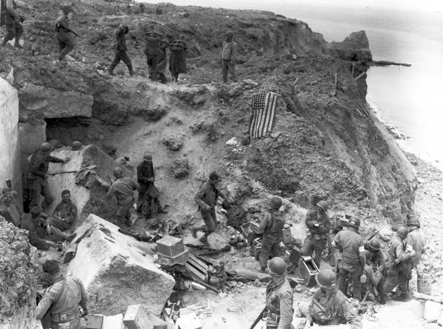 The Germans expected an invasion along the north coast of France in 1944, but they did not know where.They built up their troops and artillery near Calais, where the English Channel is the narrowest.