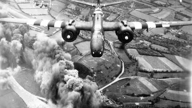Between midnight and 8 a.m.on June 6, Allied forces of more than 11,000 aircraft flew 14,674 sorties, which means they came from a defense position to attack.