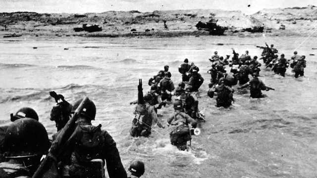 The date June 5, 1944, was originally chosen for the invasion, but bad weather forced the Allies to postpone one day.