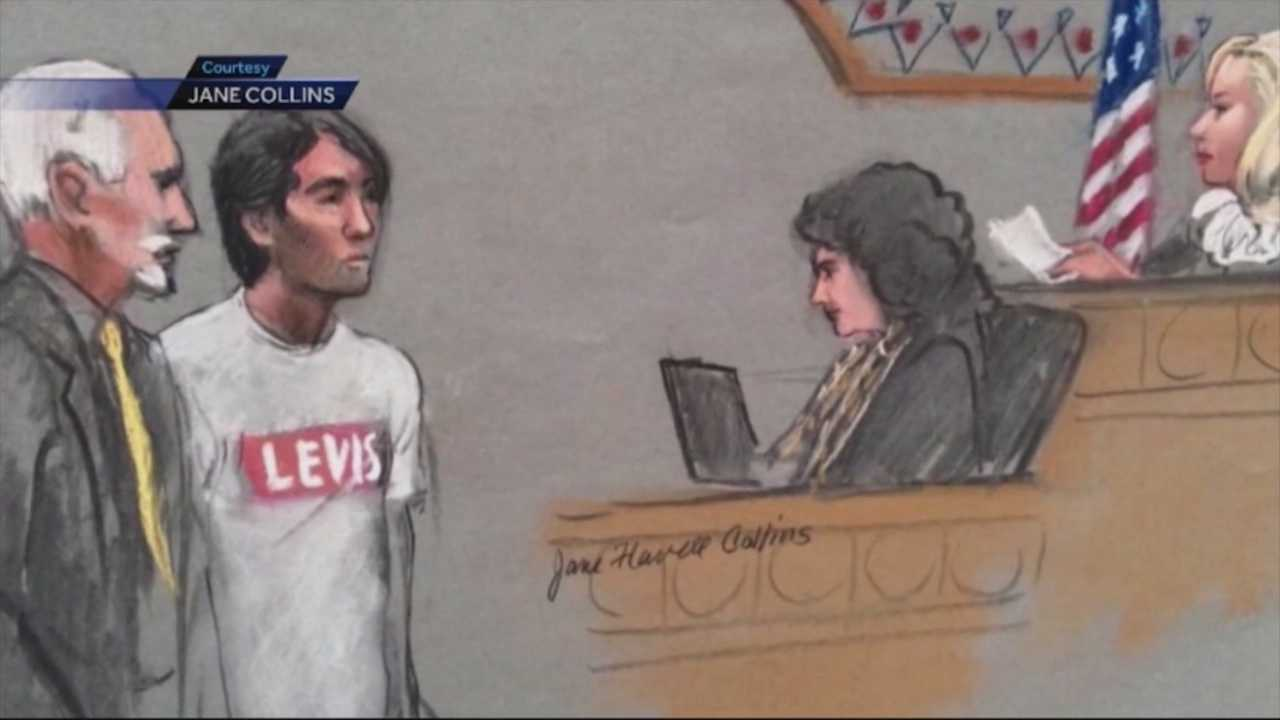 Bombing suspect's friend accused of deleting files in court
