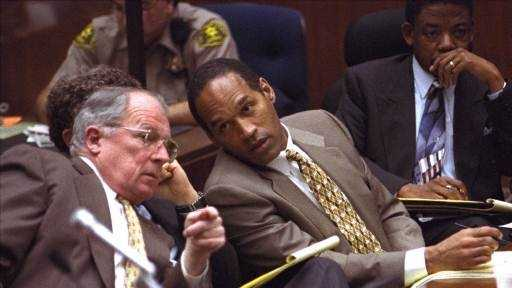 Simpson hired the so-called dream team of high-profile lawyers, including F. Lee Bailey.