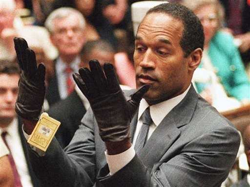 """""""If it (the glove) doesn't fit, you must acquit,"""" defense attorney Johnnie Cochran famously told the jury."""