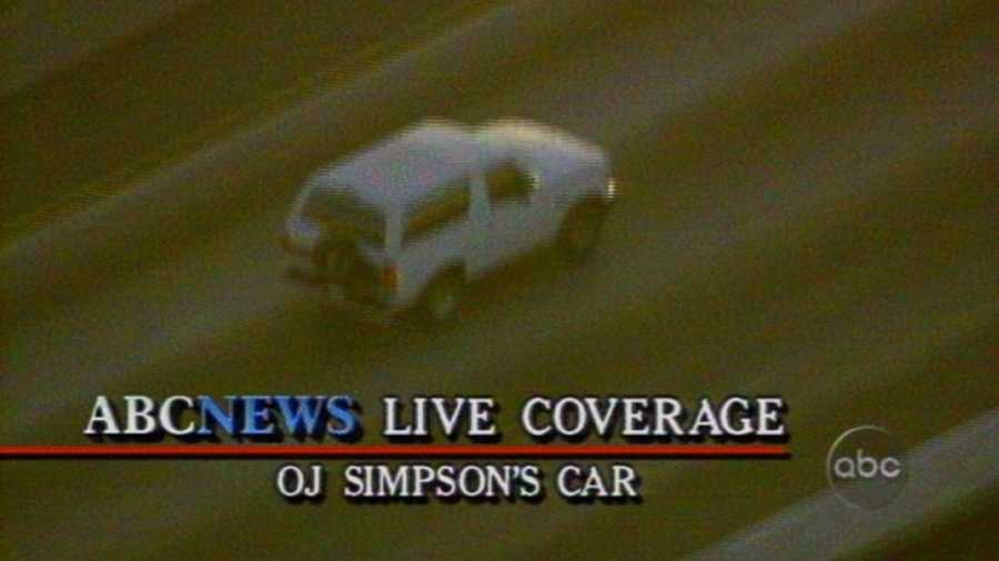 """The chase was covered live by ABC News anchors Peter Jennings and Barbara Walters. The millions watching the chase on television felt part of a """"common emotional experience,"""" it was later said. Domino's Pizza later reported record sales of pizza delivery during the televised chase."""