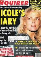 The case immediately became a media circus when a salesman who claimed he had sold Simpson a knife six weeks before the murder sold his story to the National Enquirer for $12,500.