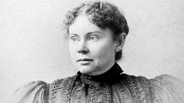 Lizzie Borden was tried and acquitted in the 1892 axe murders of her father and stepmother in Fall River.