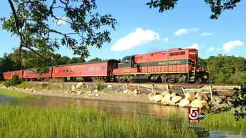 The Cape Cod Central Railroad, or The Dinner Train. Also featuring, lunch, brunch, and weddings, with a view.