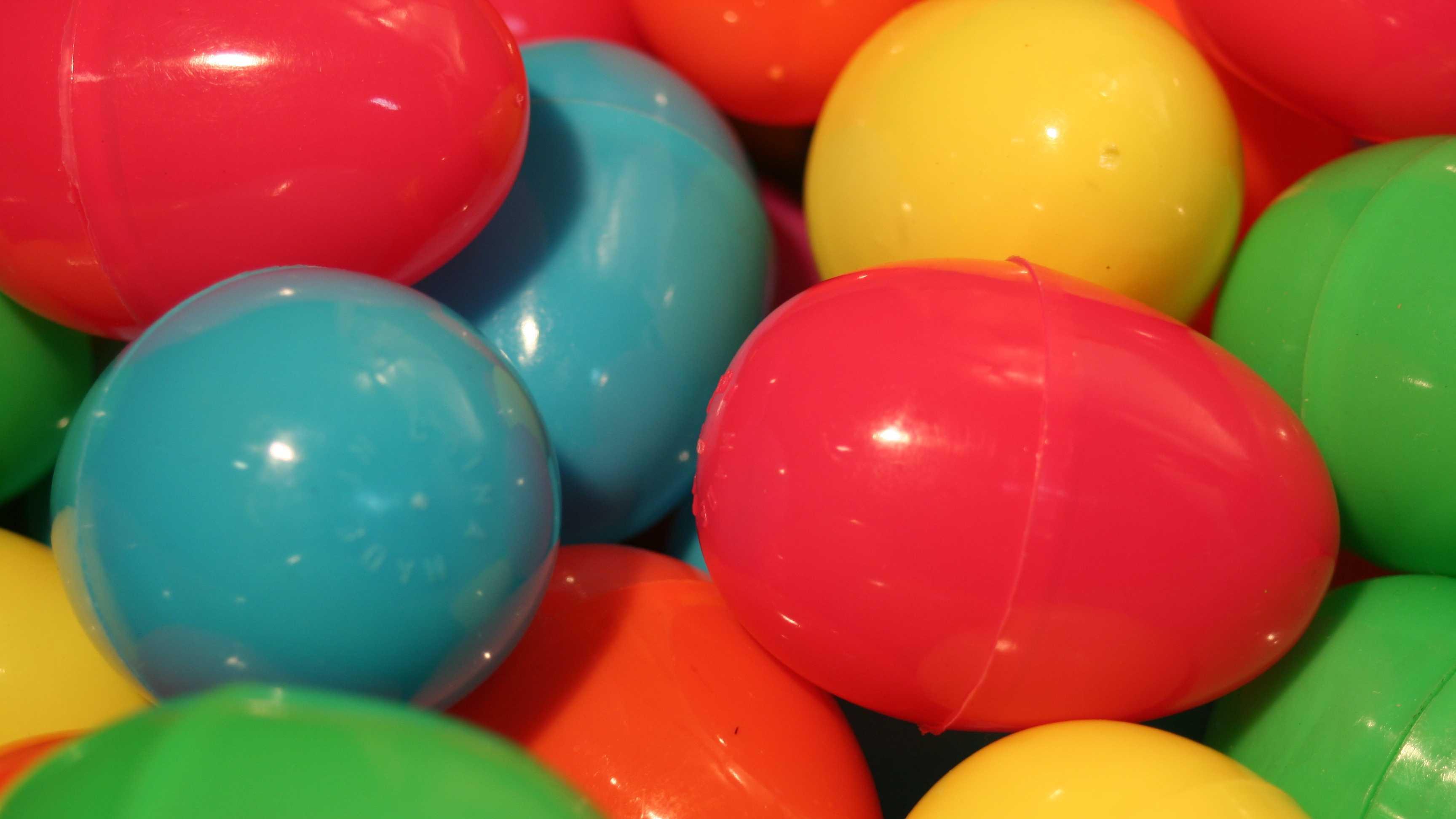 Easter plastic eggs generic