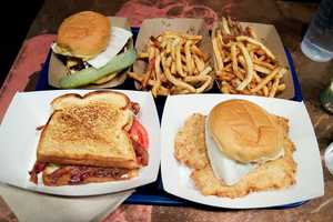 It's only $2.95 for a cup of clam or fish chowder to go with the burgers and fish sandwiches at the Sea Witch Restaurant in Peabody.
