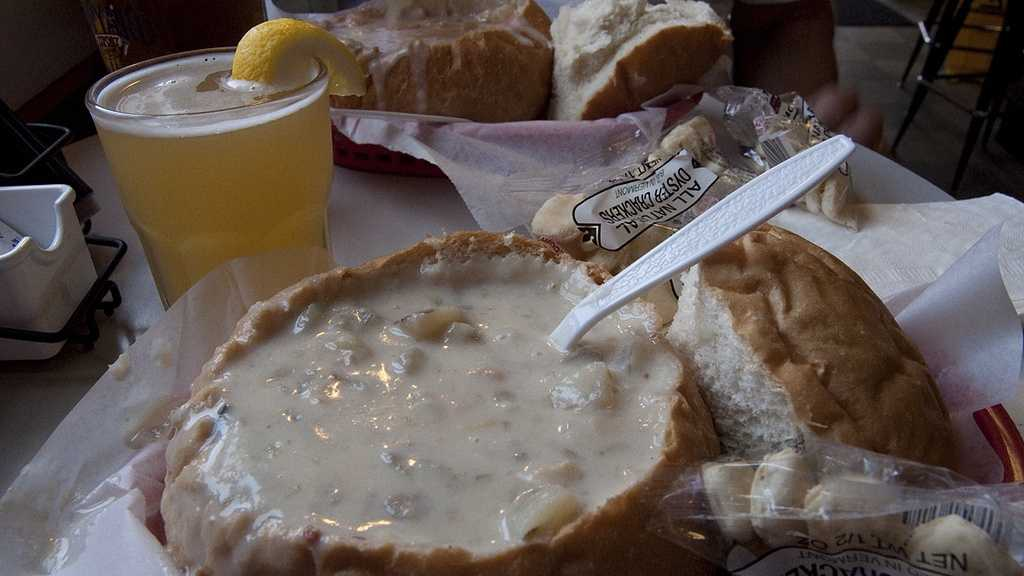"Summer in New England means seafood, and no seafood dinner is complete without clam chowder. We asked our Facebook friends to share with us their favorite Massachusetts restaurants and clam shacks to enjoy the ""best chowdah evah."""