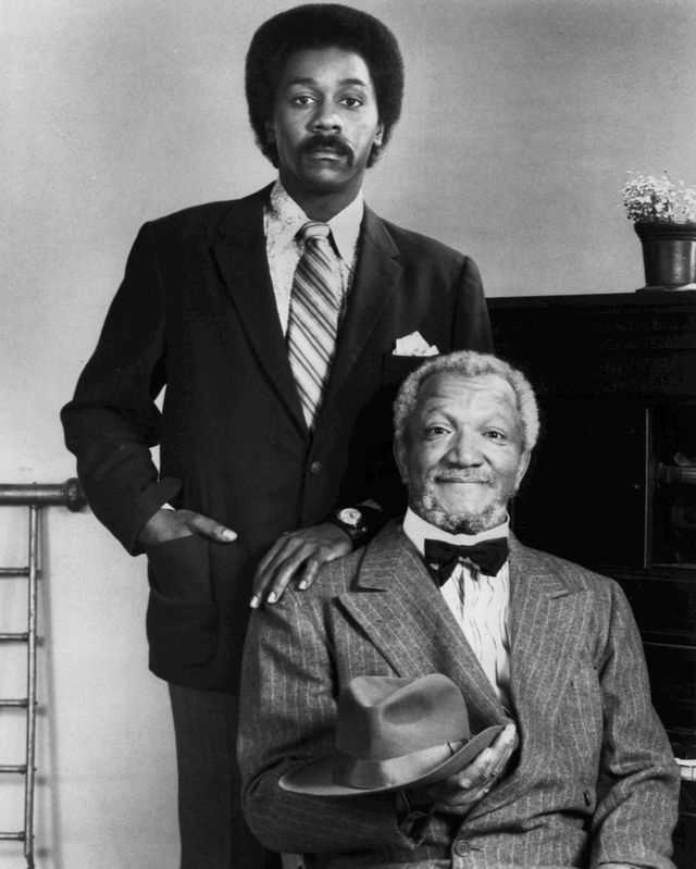 """9.) Fred Sanford -- """"Sanford and Sons"""""""