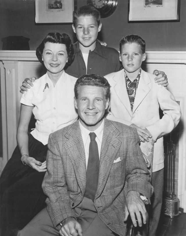 """17.) Ozzie Nelson -- """"The Adventures of Ozzie and Harriet"""""""