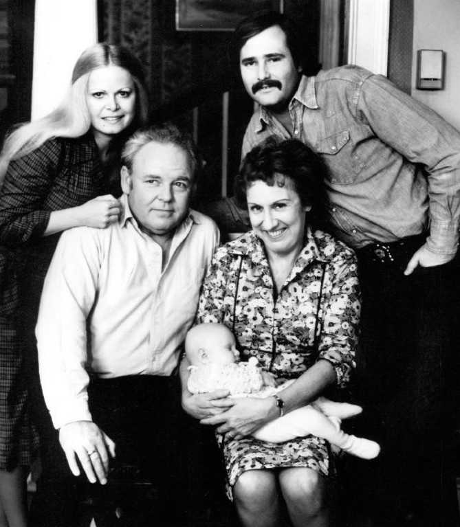 """19.) Archie Bunker -- """"All in the Family"""""""