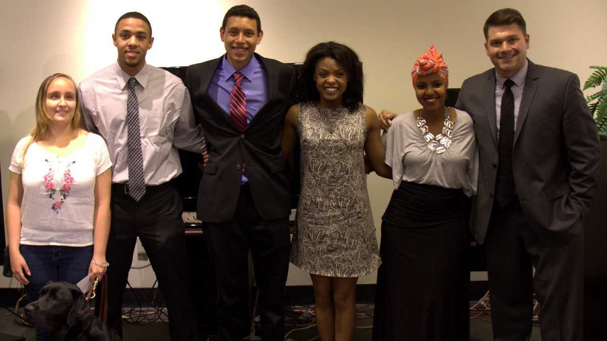A+ scholarship winners 6.9.14