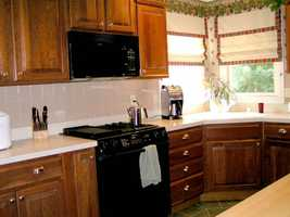 Don't store foods under the kitchen sink or alongside household chemicals.